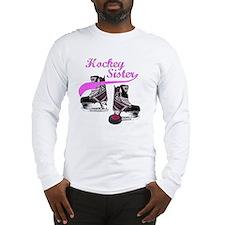 hockey_sister_pink Long Sleeve T-Shirt