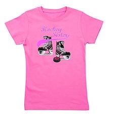 hockey_sister_pink Girl's Tee