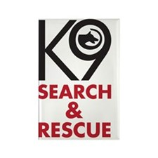 SearchRescue Rectangle Magnet