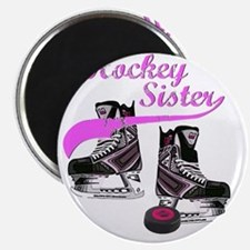 hockey_sister_pink Magnet