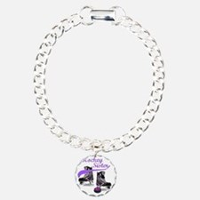 hockey_sister_purple Bracelet