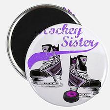 hockey_sister_purple Magnet