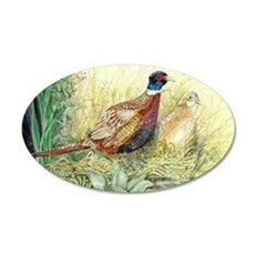 Pheasants Nesting Wall Decal