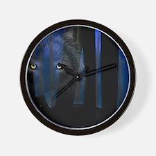 Wolf WoodsiPad2_Cover Wall Clock