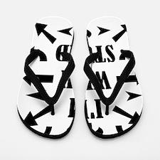 WITHSTUPID Flip Flops