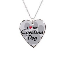 carolina-dog Necklace Heart Charm
