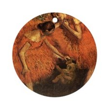 Degas Round Ornament