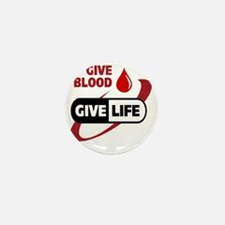 Give Blood Mini Button