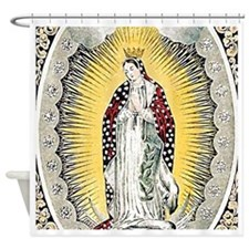 Guadalupe Square Shower Curtain