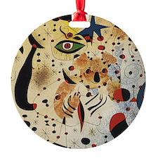 Miro Round Ornament