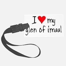I LOVE MY Glen of Imaal Luggage Tag