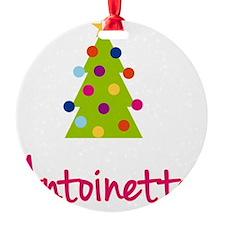 Christmas-tree-Antoinette Ornament