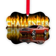 dodge chall Ornament
