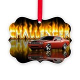 Dodge challenger Picture Frame Ornaments