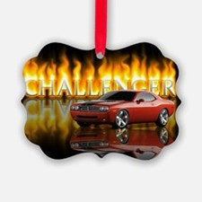 dodge chall Picture Ornament