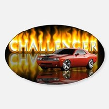 dodge chall Decal