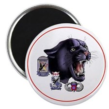 Panther v2_2nd-505th-White Magnet