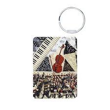 Cello ornament Keychains