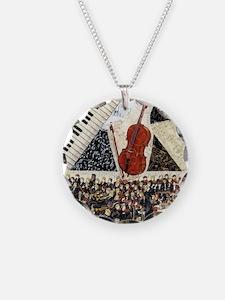 Cello ornament Necklace