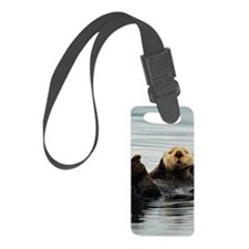 5x8_journal_otter_7 Luggage Tag
