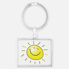 Sunshine Landscape Keychain