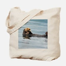 5x8_journal_otter_6 Tote Bag