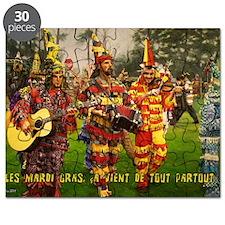 Les Mardi Gras, ca vient de tout partout_5x Puzzle