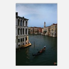 Gondola_Venice_9x12 Postcards (Package of 8)
