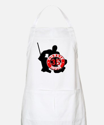 hockey Goalie Mom #35 BBQ Apron