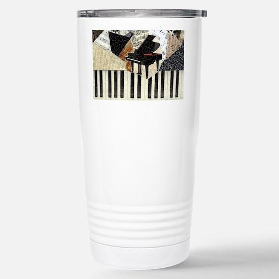 Piano Stainless Steel Travel Mug