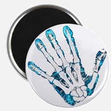 Blue Hand Magnet