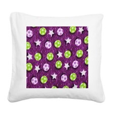 American Soccer copy Square Canvas Pillow