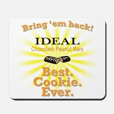 IDEAL Chocolate Peanut Bar Mousepad