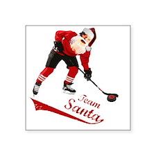 "team_santa Square Sticker 3"" x 3"""