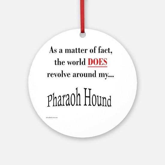Pharaoh World Ornament (Round)