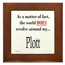 Plott World Framed Tile