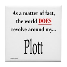 Plott World Tile Coaster