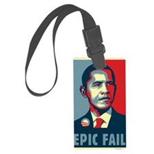 Obama - Epic Fail Luggage Tag