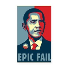 Obama - Epic Fail Rectangle Car Magnet