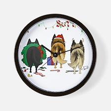 BelgianShirtDark Wall Clock