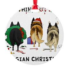 BelgianShirtLight Ornament