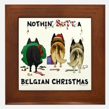 BelgianShirtLight Framed Tile