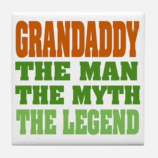 Grandaddy The Legend Tile Coaster