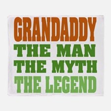 Grandaddy The Legend Throw Blanket