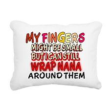 WRAP NANA Rectangular Canvas Pillow