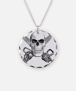 skull_chainsaws Necklace