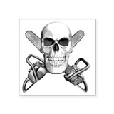 Chainsaw Stickers & Flair