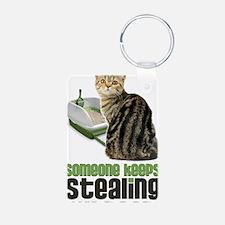 stealing my poop 23x35 Keychains