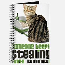 stealing my poop 23x35 Journal