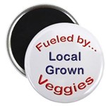 "Fueled by Local 2.25"" Magnet (100 pack)"